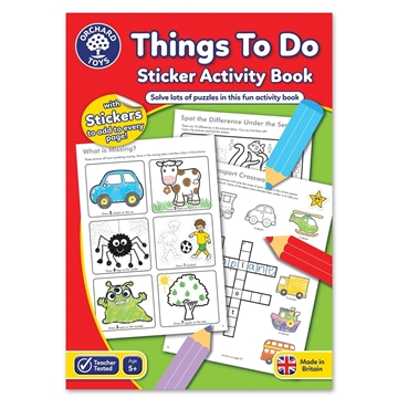 Слика на Things To Do Activity Book