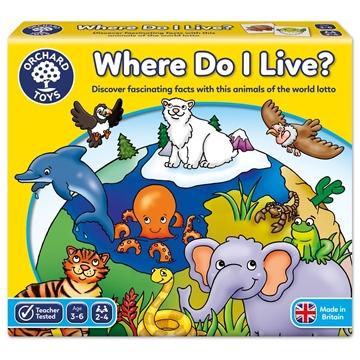 Слика на Каде живеам?