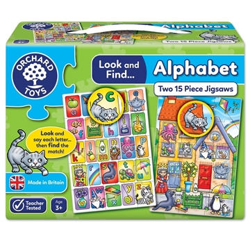 Слика на Look and Find... Alphabet Jigsaw