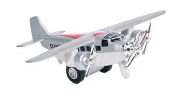 Слика на Airplane, die-cast, L= 14 cm (Silver)