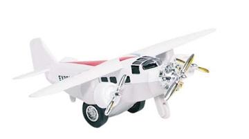 Слика на Airplane, die-cast, L= 14 cm (White)