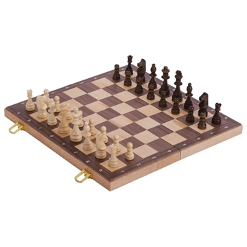 Слика на Chess set in a wooden hinged case