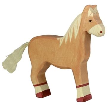 Слика на Коњ што стои, светло кафен