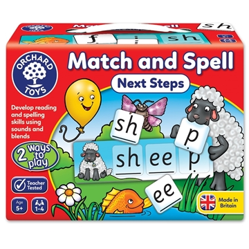 Слика на Match and Spell Next Steps Game