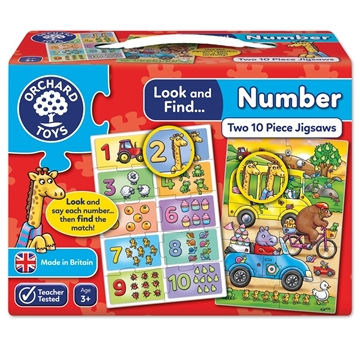 Слика на Look and Find... Number Jigsaw
