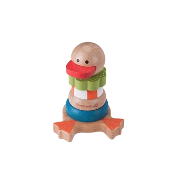 """Слика на Дрвена играчка за редење """"Пајче"""""""