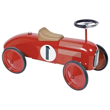 Слика на Метална количка (Црвена) Goki 14135