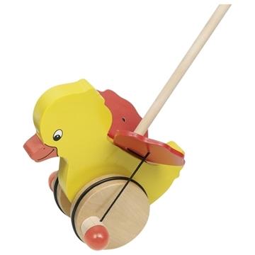 Слика на Играчка за туркање со подвижни крилја - Пајче