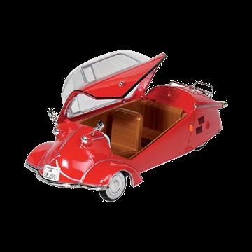 Слика на Messerschmitt Cabin Scooter KR 200 (1957) - Red, 1:18, L= 16 cm