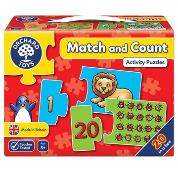 Слика на Match and Count Jigsaw Puzzle