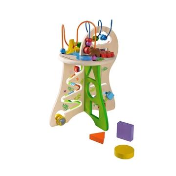 Слика на Дрвена играчка со активности - Сафари