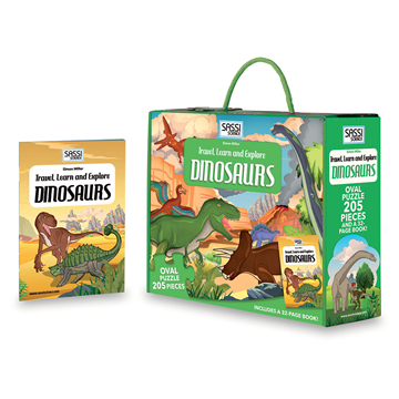 Слика на Dinosaurs  - Travel, Learn and Explore