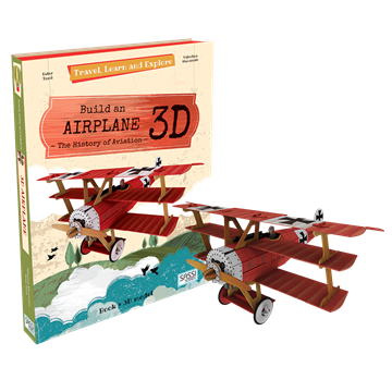Слика на Build an Airplane 3D - (Travel, Learn and Explore)