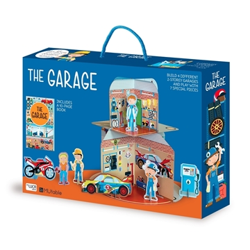 Слика на The Garage – Cardboard Playhouse plus Book