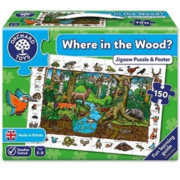 Слика на Where in the Wood Jigsaw Puzzle & Poster