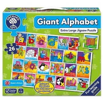 Слика на Giant  Alphabet - Extra Large Jigsaw Puzzle