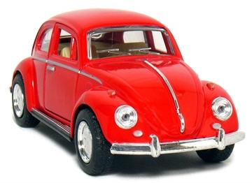 Слика на 1967 Volkswagen Classic Beetle 1:32 Scale (Red)