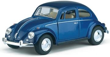 Слика на 1967 Volkswagen Classic Beetle 1:32 Scale (Blue)