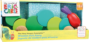 """Слика на The Very Hungry Caterpillar Pull Toy """"Colourful Companion"""""""