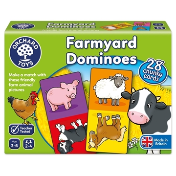 Слика на Farmyard Dominoes Game
