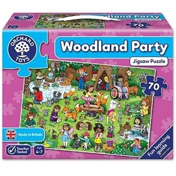 Слика на Woodland Party Jigsaw Puzzle