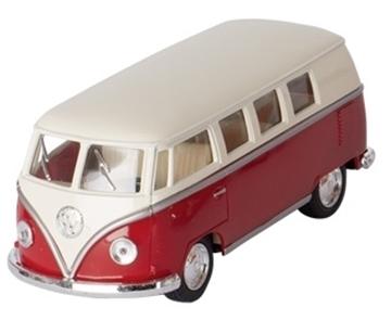 Слика на Volkswagen Classical Bus (1962), die-cast,1:32, L= 13,5 cm - Red