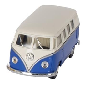 Слика на Volkswagen Classical Bus (1962), die-cast,1:32, L= 13,5 cm - Blue