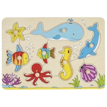 Слика на Подводен свет - Сложувалка со дршки