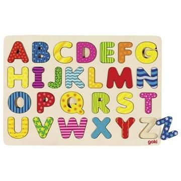 Слика на Сложувалка со букви - Абецеда