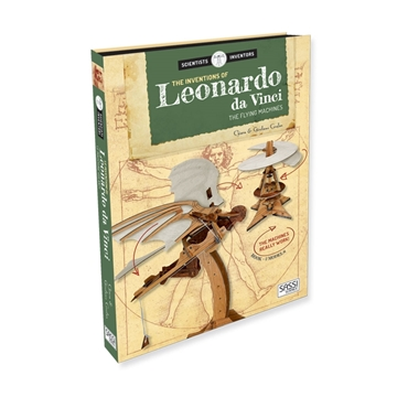 Слика на The Inventions of Leonardo Da Vinci - The Flying Machines