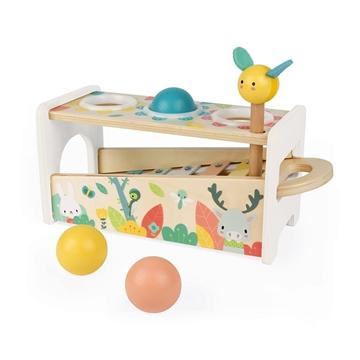Слика на Дрвена играчка со топчиња и ксилофон - Janod