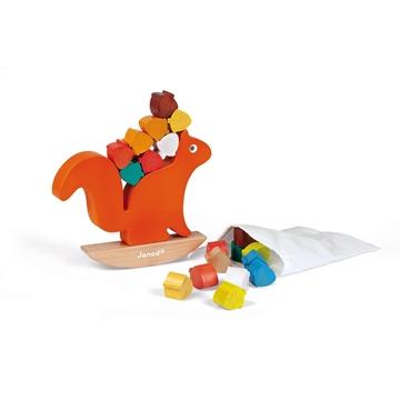 Слика на Баланс игра со верверичка и лешници