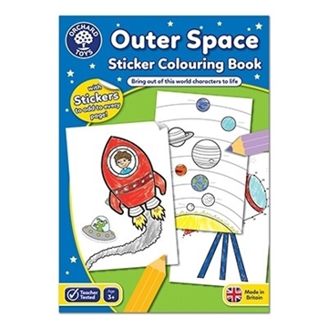 Слика на Outer Space Colouring Book
