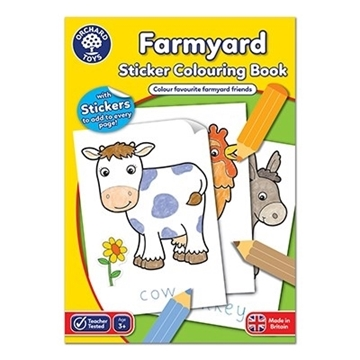 Слика на Farmyard Colouring Book