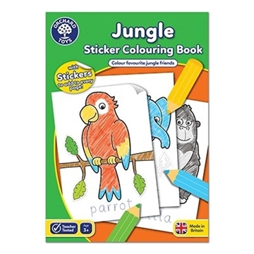 Слика на Jungle Colouring Book