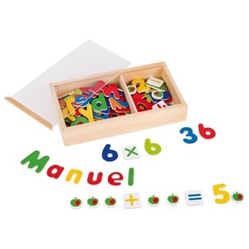 Слика на Магнетни букви и бројки - Goki