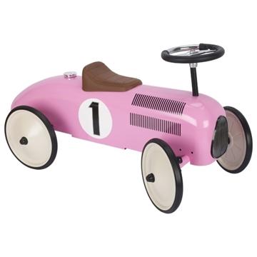 Слика на Метална количка (розова) - Goki