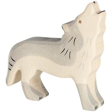 Слика на Волк што завива - Holztiger