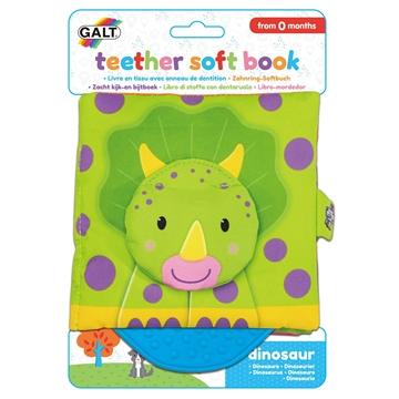 Слика на Мека бебешка книга што се гризе - Диносаурус