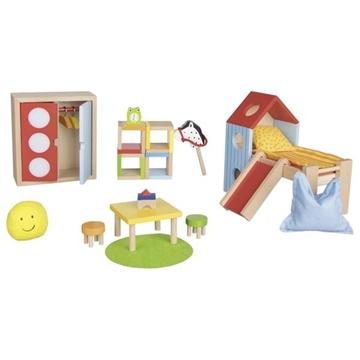 Слика на Мебел за куќичка за кукли - Детска соба - Goki