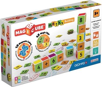 Слика на Магични коцки - Математика (10 коцки) - Geomag