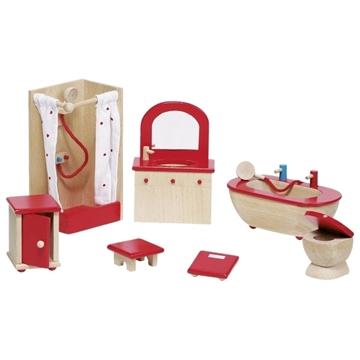 Слика на Мебел за куќичка за кукли - Бања - Goki