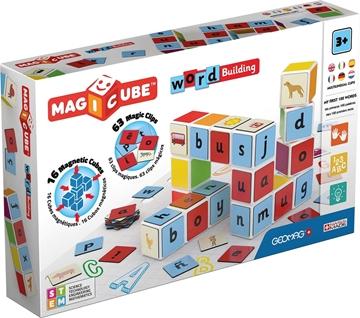 Слика на Магични коцки - Зборови (16 коцки) - Geomag