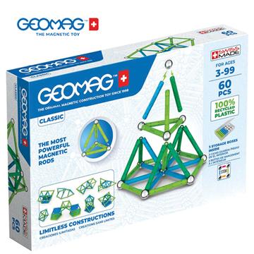 Слика на Магнетен конструктор Класик (60 парчиња) - Geomag