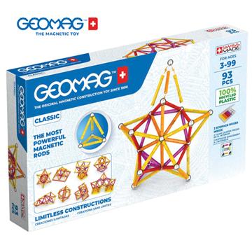 Слика на Магнетен конструктор Класик (93 парчиња) - Geomag