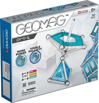 Слика на Магнетен конструктор PRO-L (50 парчиња) - Geomag