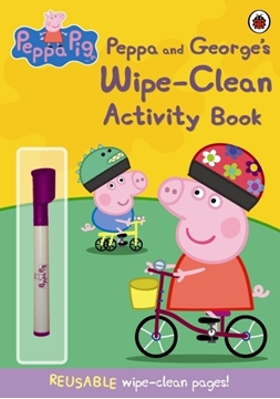 Слика на Peppa Pig: Peppa and George's Wipe-Clean Activity Book