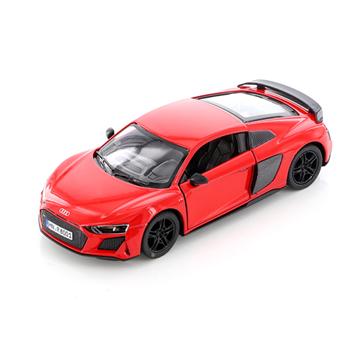 Слика на Audi R8 Coupé, 1:36, 13 cm - Red (Kinsmart)
