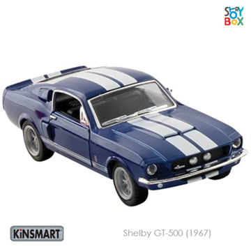 Слика на Shelby GT-500 (1967) Blue - 1:38, 12,5 cm