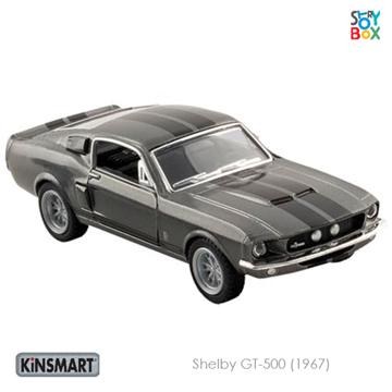 Слика на Shelby GT-500 (1967) Black - 1:38, 12,5 cm
